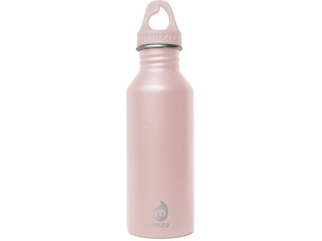MIZU M5 LE LC Gourde avec capuchon Light Pink Loop Cap 500ml, enduro soft pink